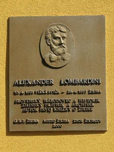 Historické osobnosti Žiliny III. - Alexander Lombardini, foto 2