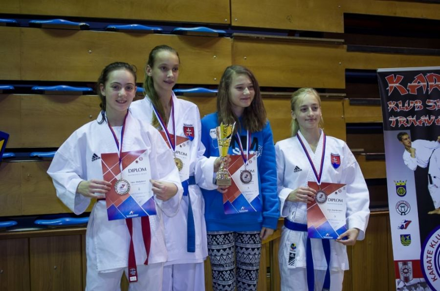 Budapešť Tatami Cup a Majstrovstvá SR kadetov a juniorov v karate., foto 2