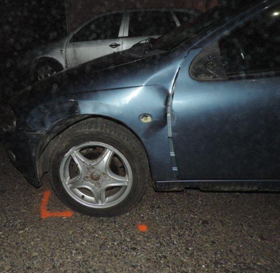 Podnapitý mladík z Čadce spôsobil 2 nehody a ušiel, foto 5