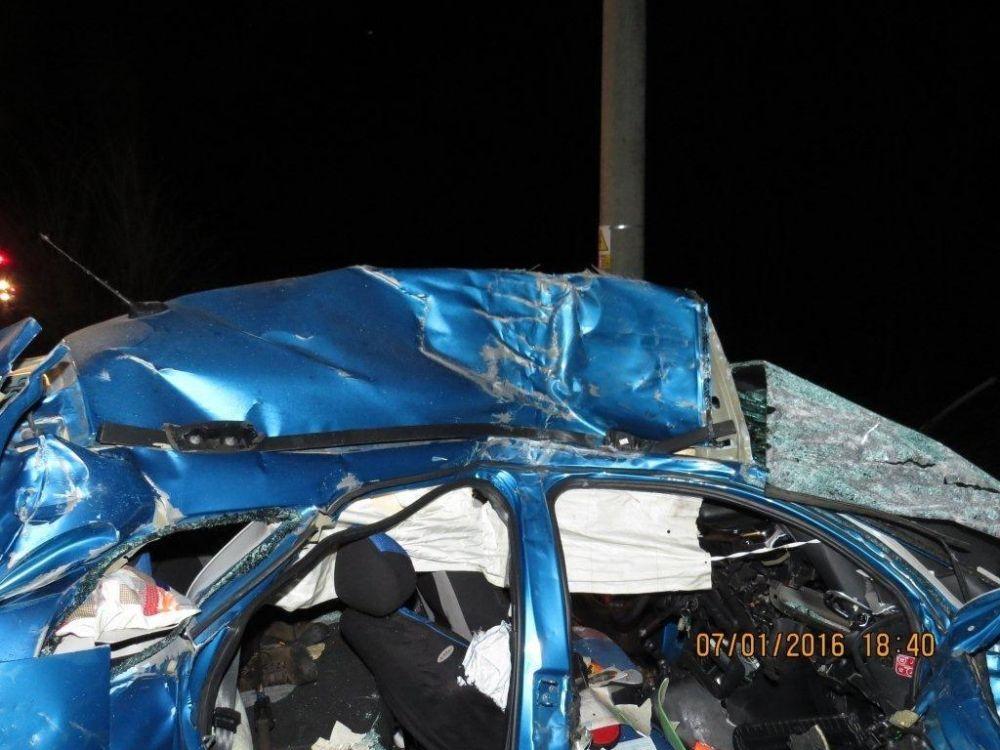 Tragická dopravná nehoda pri Makove - 7.1.2016, foto 11