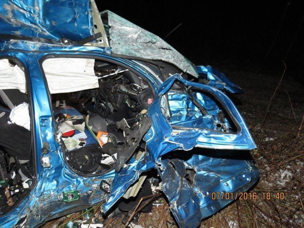 Tragická dopravná nehoda pri Makove - 7.1.2016, foto 10
