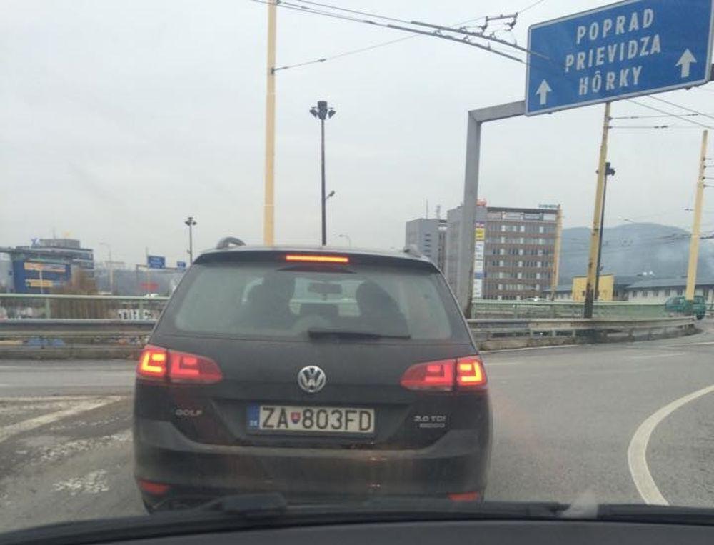 Mobilné radary v meste Žilina, foto 2
