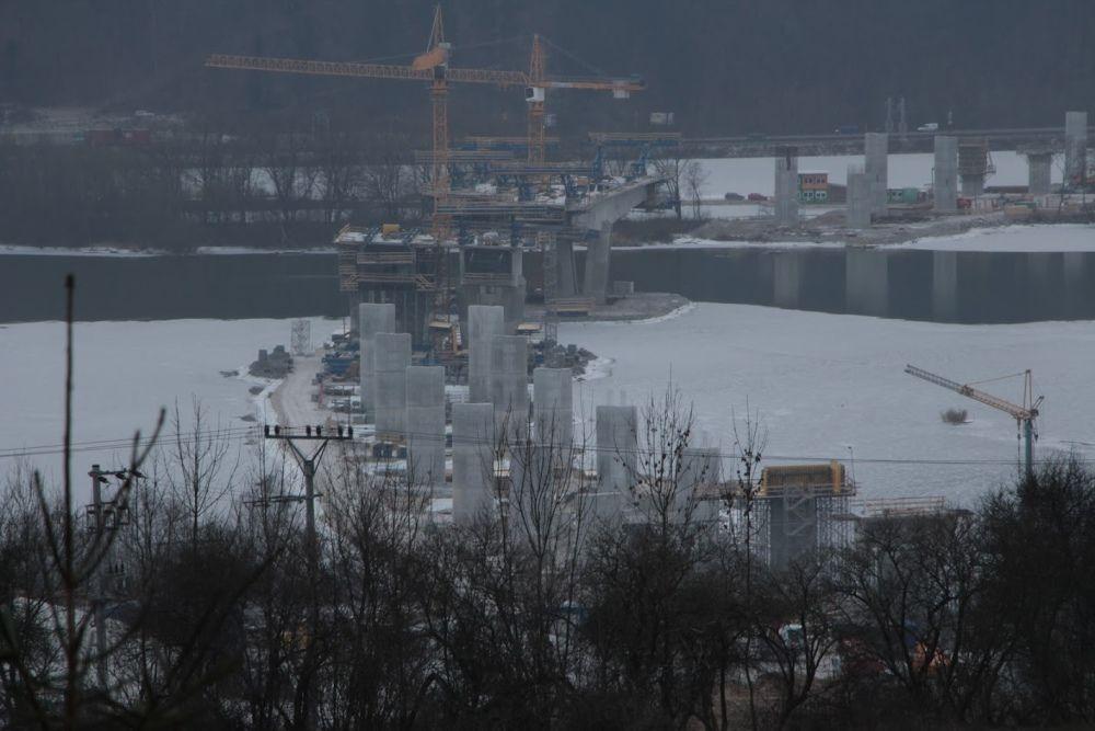 Výstavba diaľnice D3 v úseku Strážov - Brodno, foto 2