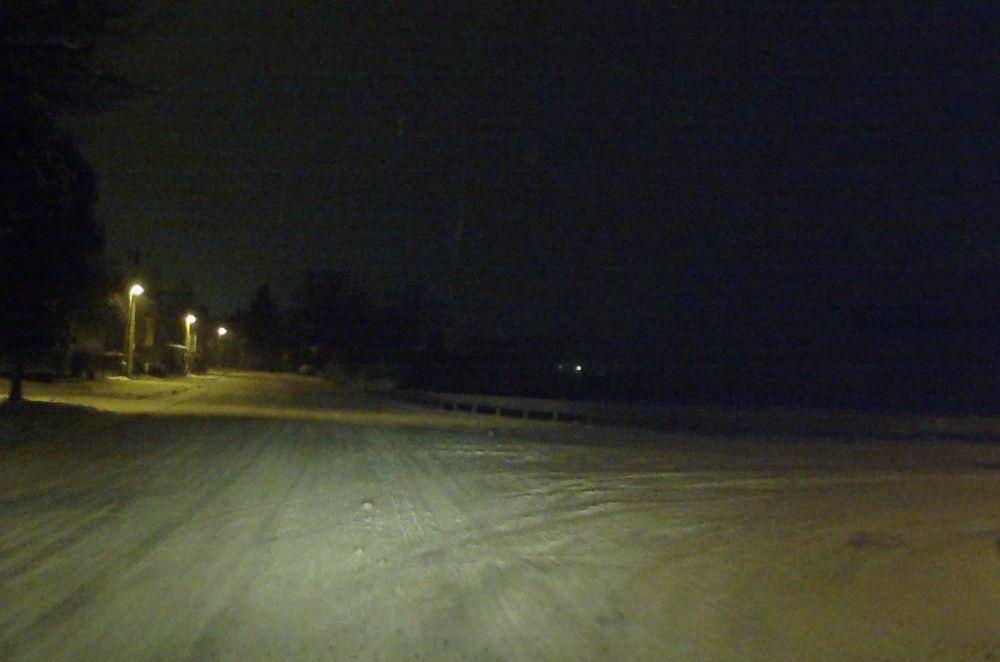 Stav ciest v Žiline po hustom snežení 24.1.2016, foto 1