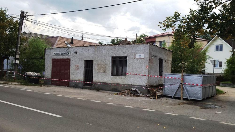 Vynovená hasičská zbrojnica v Bytčici , foto 1