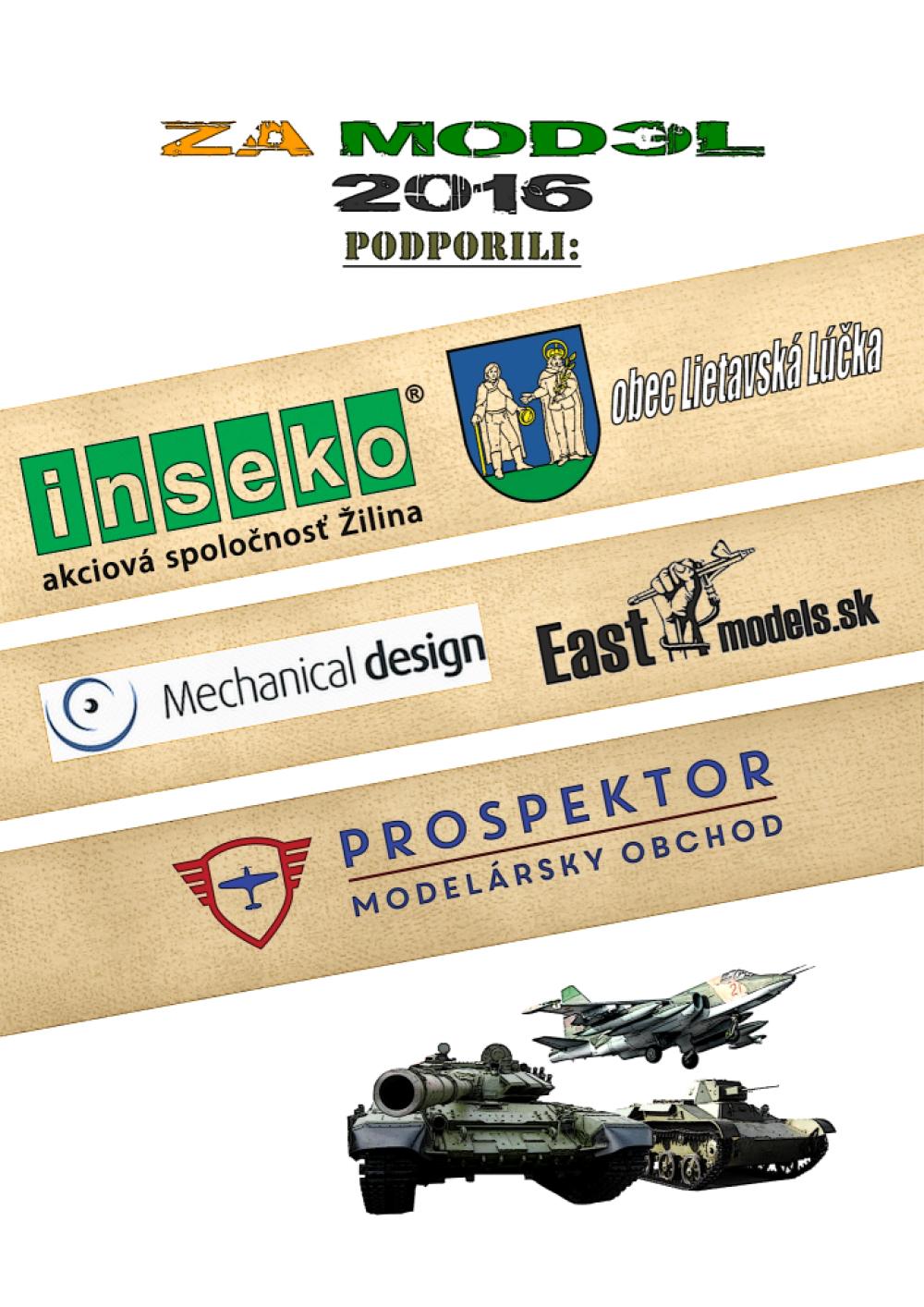 Pozvánka na 1. ročník výstavy a súťaže plastikových a papierových modelov, foto 2