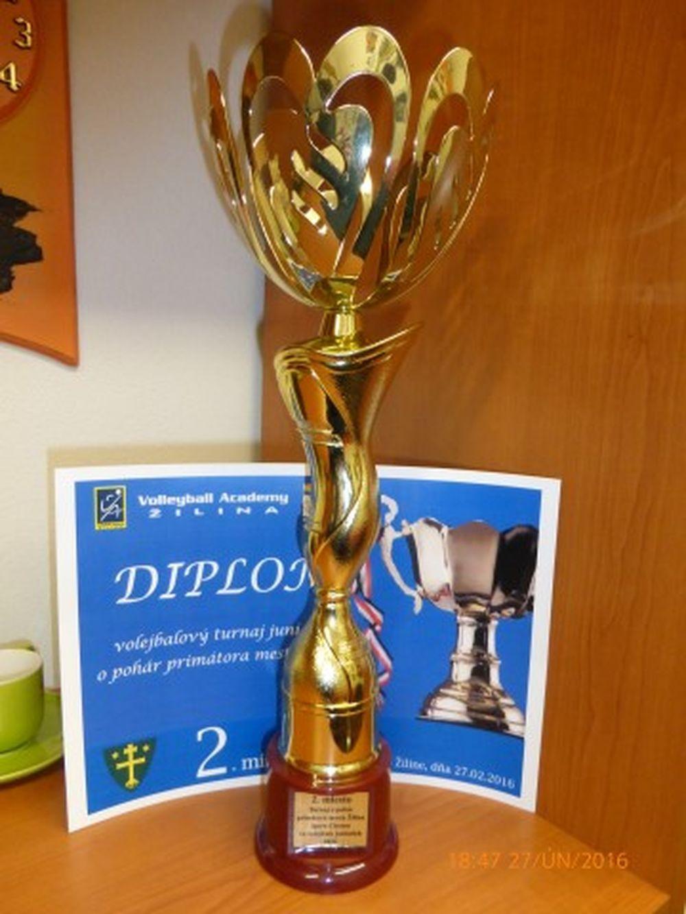 Volleyball Academy CVČ Žilina skončili na 2.mieste, foto 2