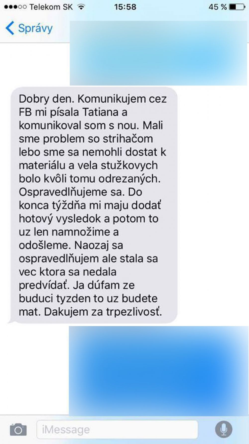 Nespokojní zákazníci spoločnosti, ktorá mala dodať video zo Stužkovej, foto 4