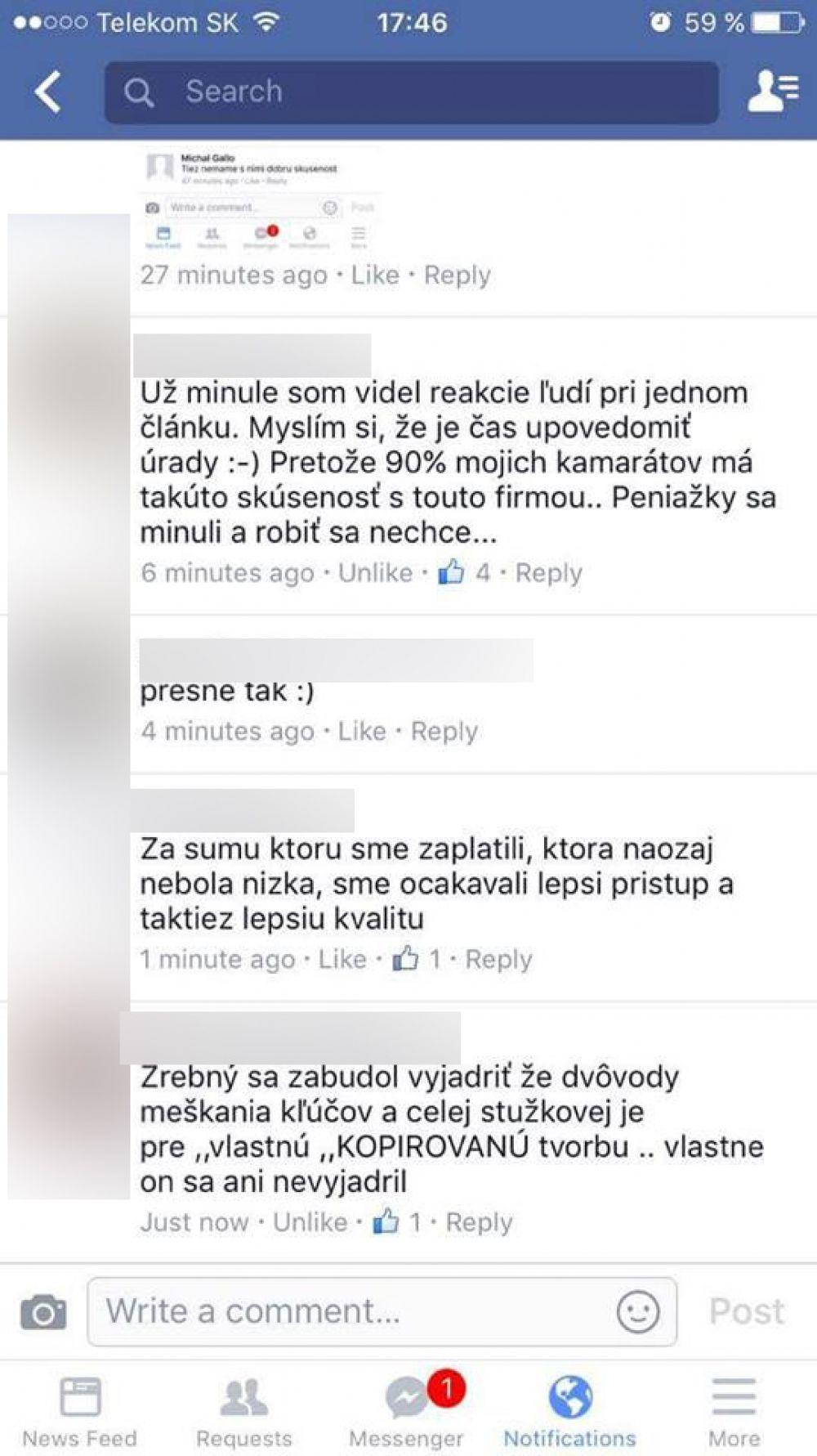 Nespokojní zákazníci spoločnosti, ktorá mala dodať video zo Stužkovej, foto 7