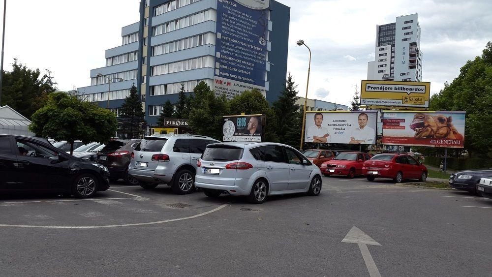 Parkovanie pri ŽILPO, Kaufland, Vlčince, foto 1
