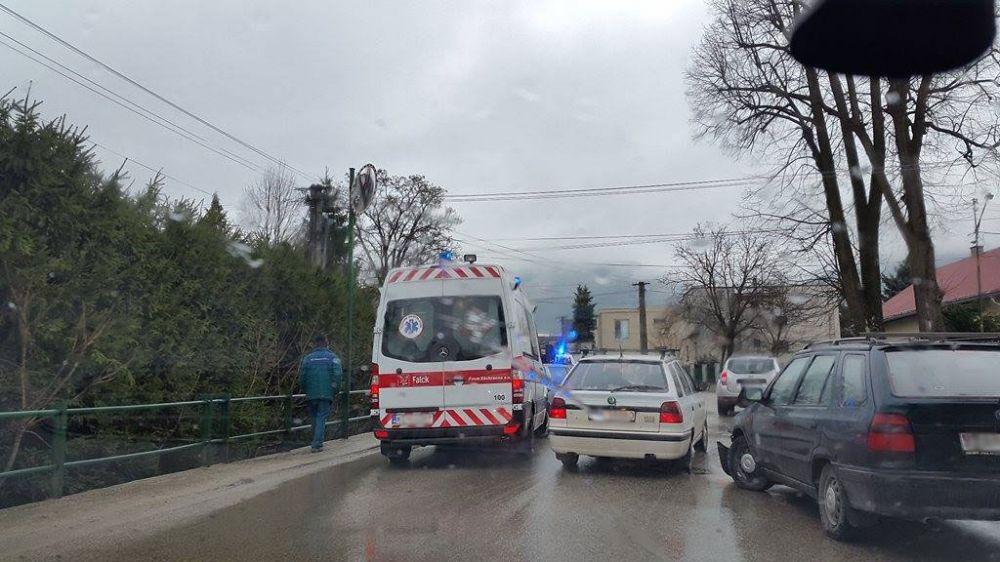 Nehoda Višňové zrážka dvoch automobilov 12.3.2016, foto 3
