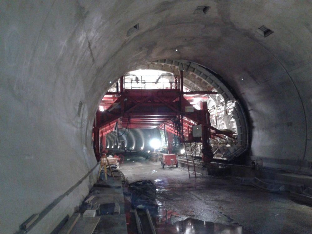 Fotografie z tunela Poľana pri Čadci - 3.4.2016, foto 2
