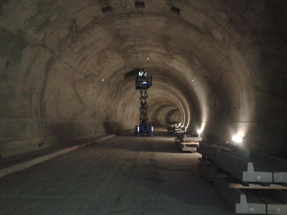Fotografie z tunela Poľana pri Čadci - 3.4.2016, foto 3
