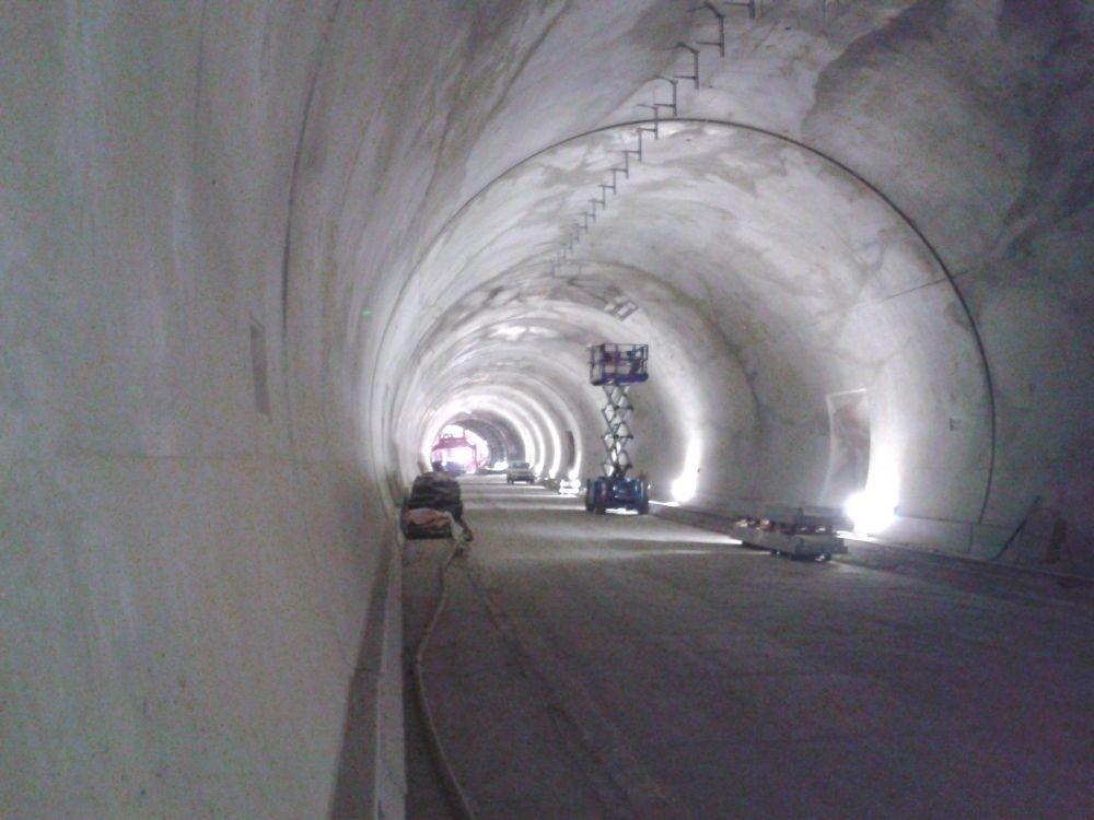 Fotografie z tunela Poľana pri Čadci - 3.4.2016, foto 8