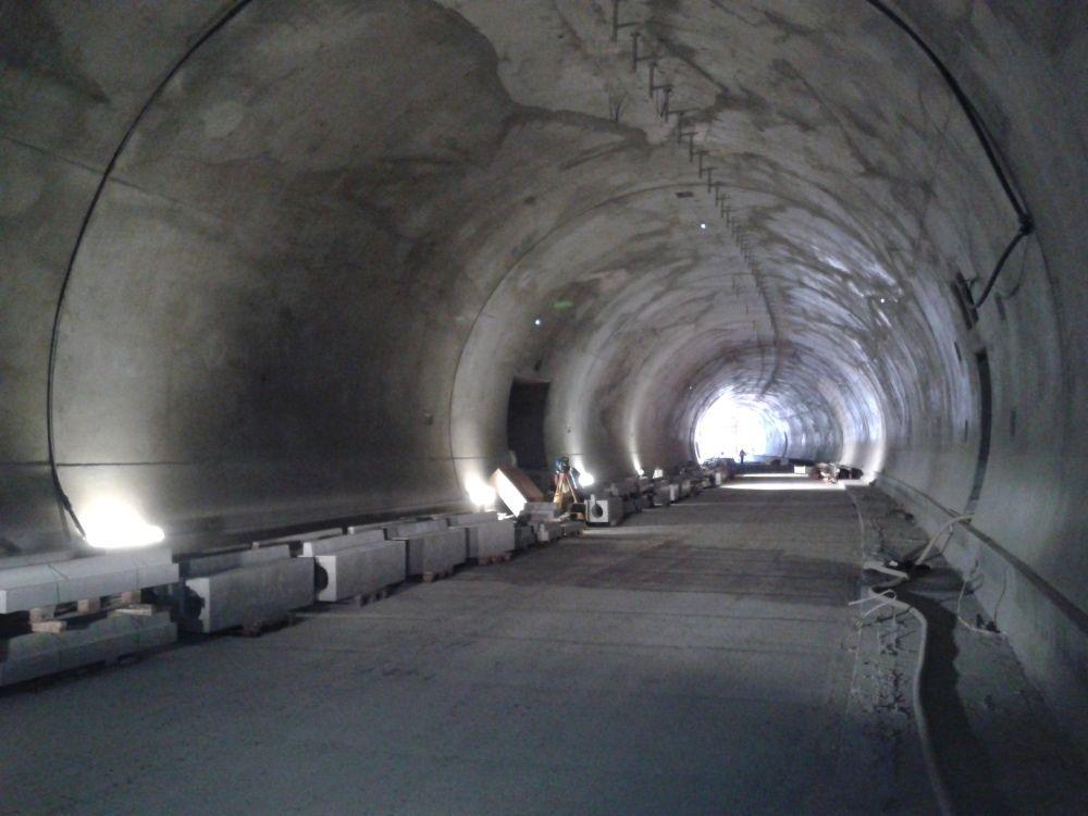 Fotografie z tunela Poľana pri Čadci - 3.4.2016, foto 10