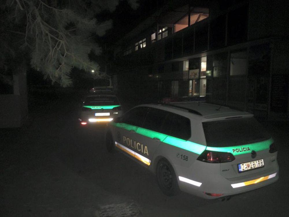 Potýčka Družba Hliny a Pohotovostná motorizovaná jednotka Žilina 8 3.4.2016, foto 1