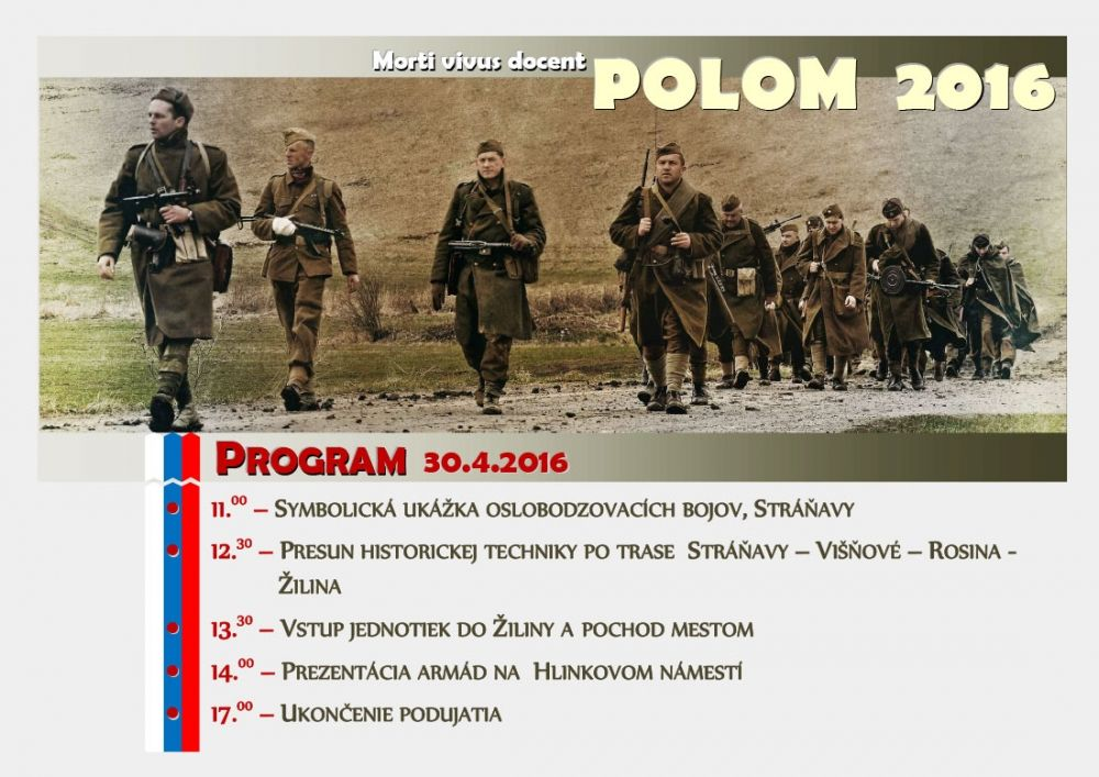 Rekonštrukcia bojov o Polom - 30.04.2016 , foto 2