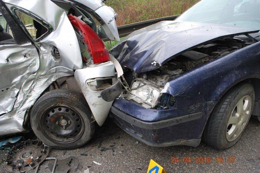 Tragická dopravná nehoda 24.4.2016, foto 1