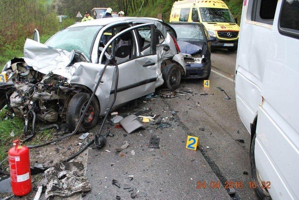 Tragická dopravná nehoda 24.4.2016, foto 3