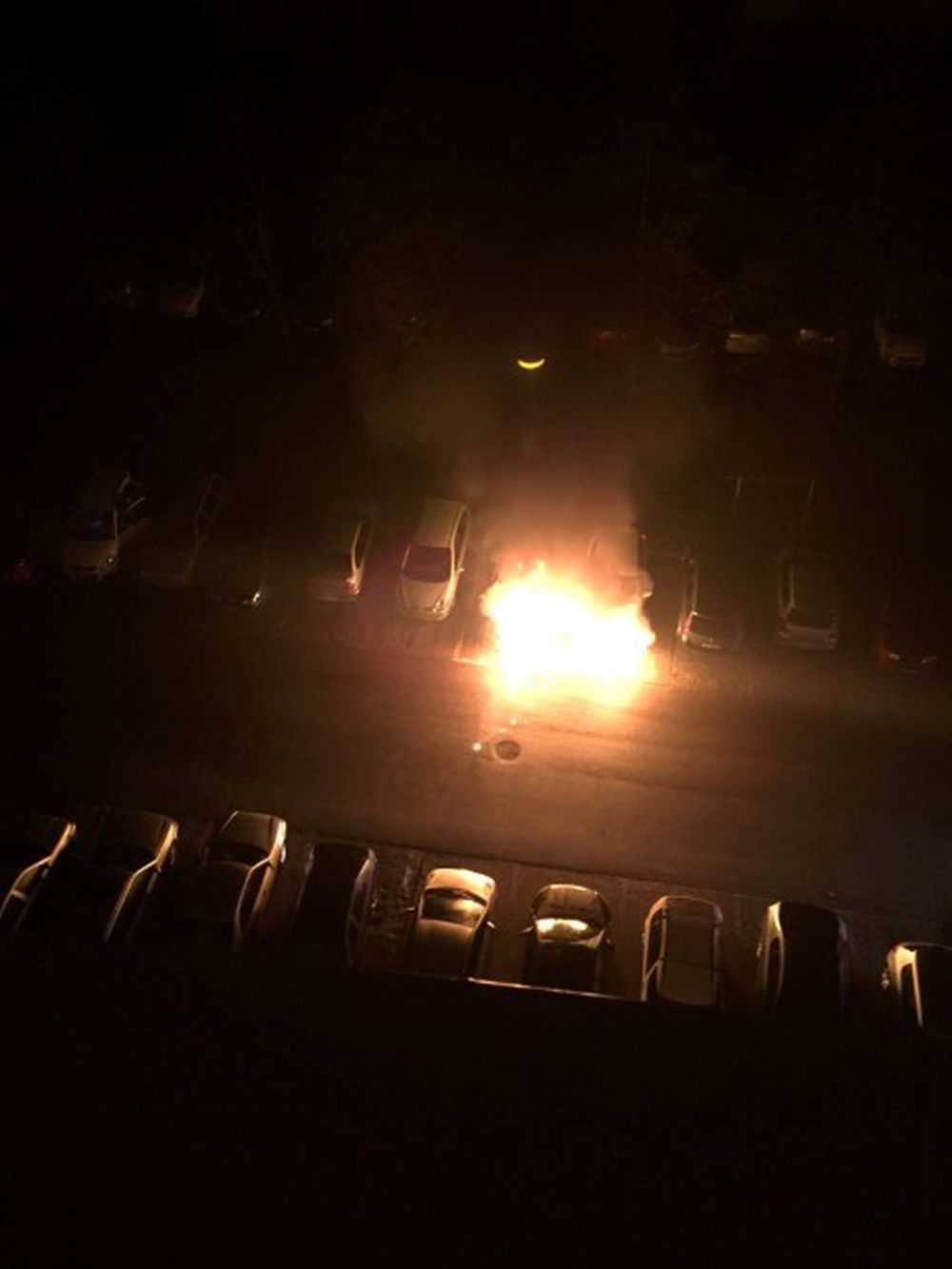 Požiar osobného auta na Hájiku - 28.4.2016 fotografie od majiteľa, foto 11