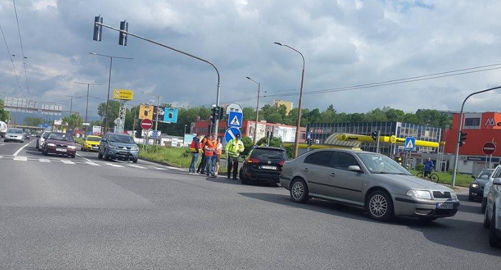 Dopravná nehoda Košická 14.5.2016, foto 1