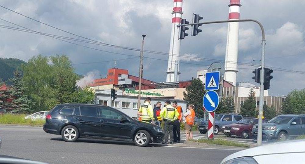Dopravná nehoda Košická 14.5.2016, foto 2