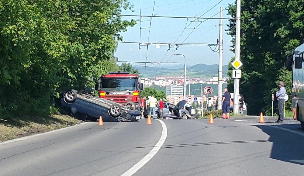 Dopravná nehoda Veľký Diel - 31.5.2016, foto 1