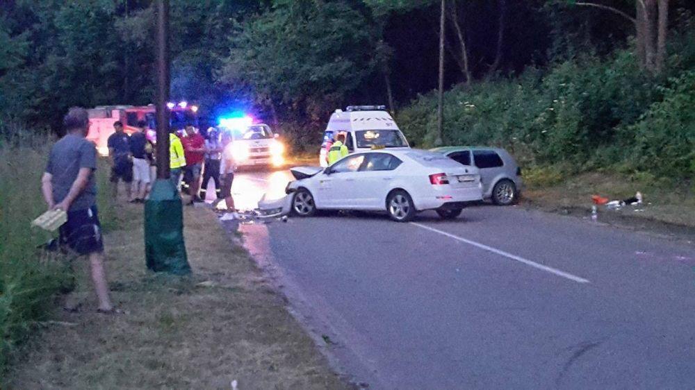 Dopravná nehoda pod Hradiskom - 18.6.2016, foto 2