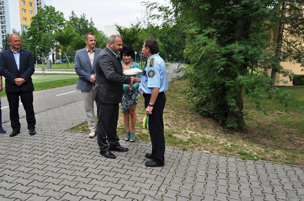 Nový policajný okrsok Vlčince, foto 1