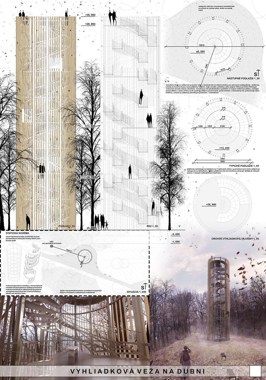 Súťažné návrhy Výhliadková veža na Dubni, foto 2
