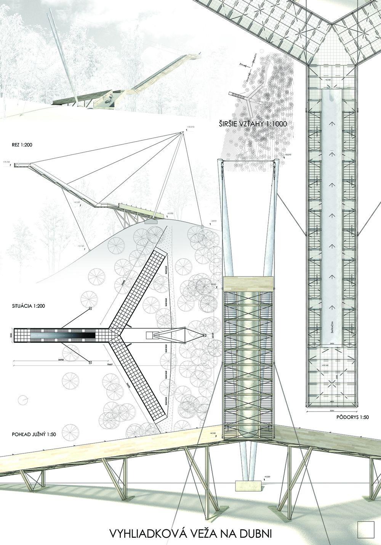 Súťažné návrhy Výhliadková veža na Dubni, foto 3