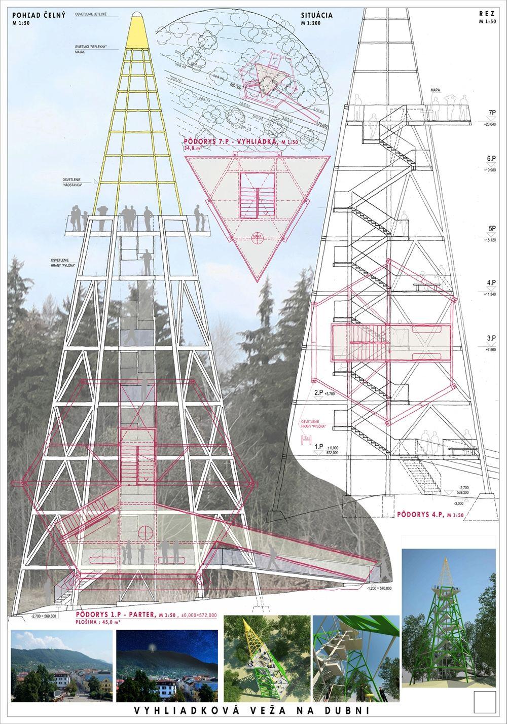Súťažné návrhy Výhliadková veža na Dubni, foto 4