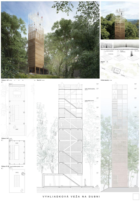 Súťažné návrhy Výhliadková veža na Dubni, foto 5