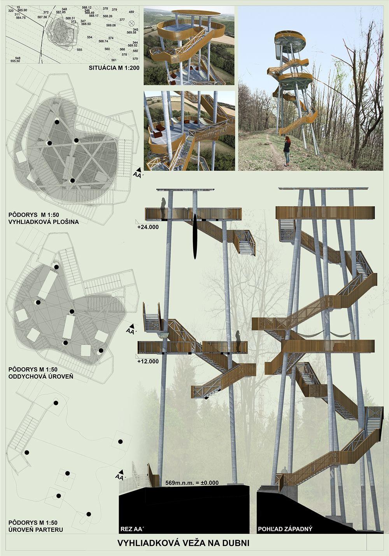 Súťažné návrhy Výhliadková veža na Dubni, foto 7