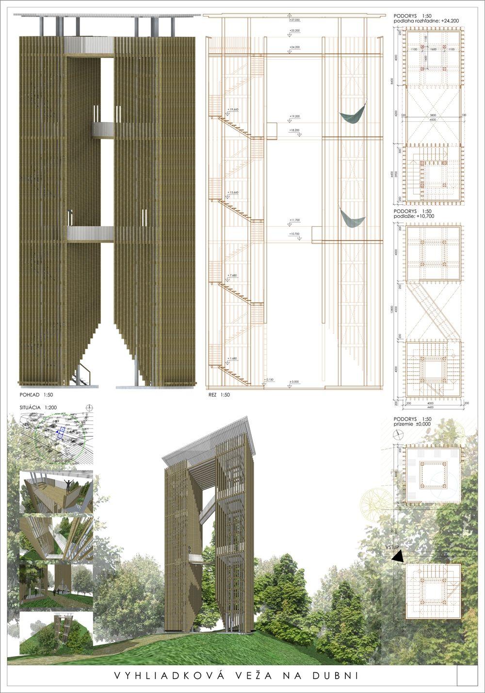 Súťažné návrhy Výhliadková veža na Dubni, foto 8