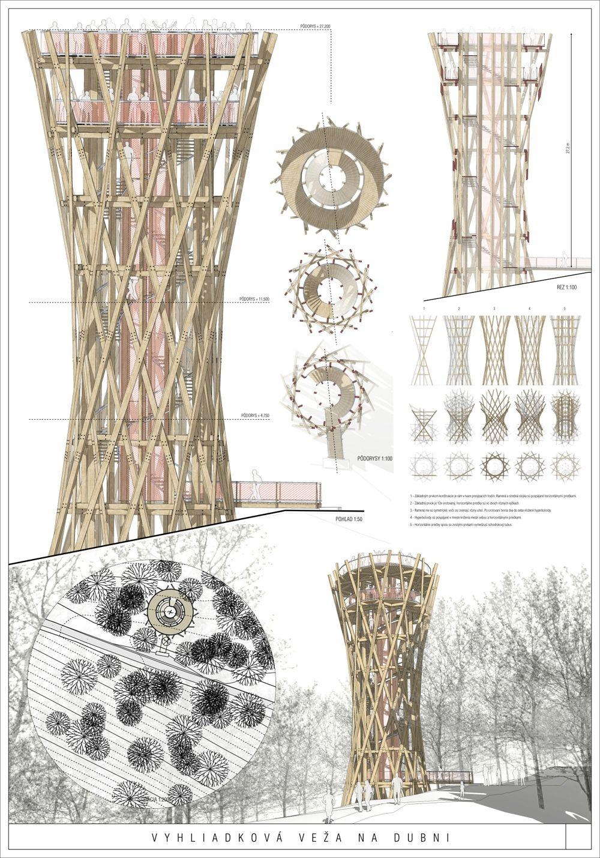 Súťažné návrhy Výhliadková veža na Dubni, foto 9