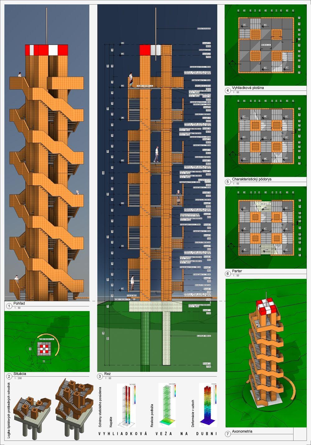 Súťažné návrhy Výhliadková veža na Dubni, foto 12