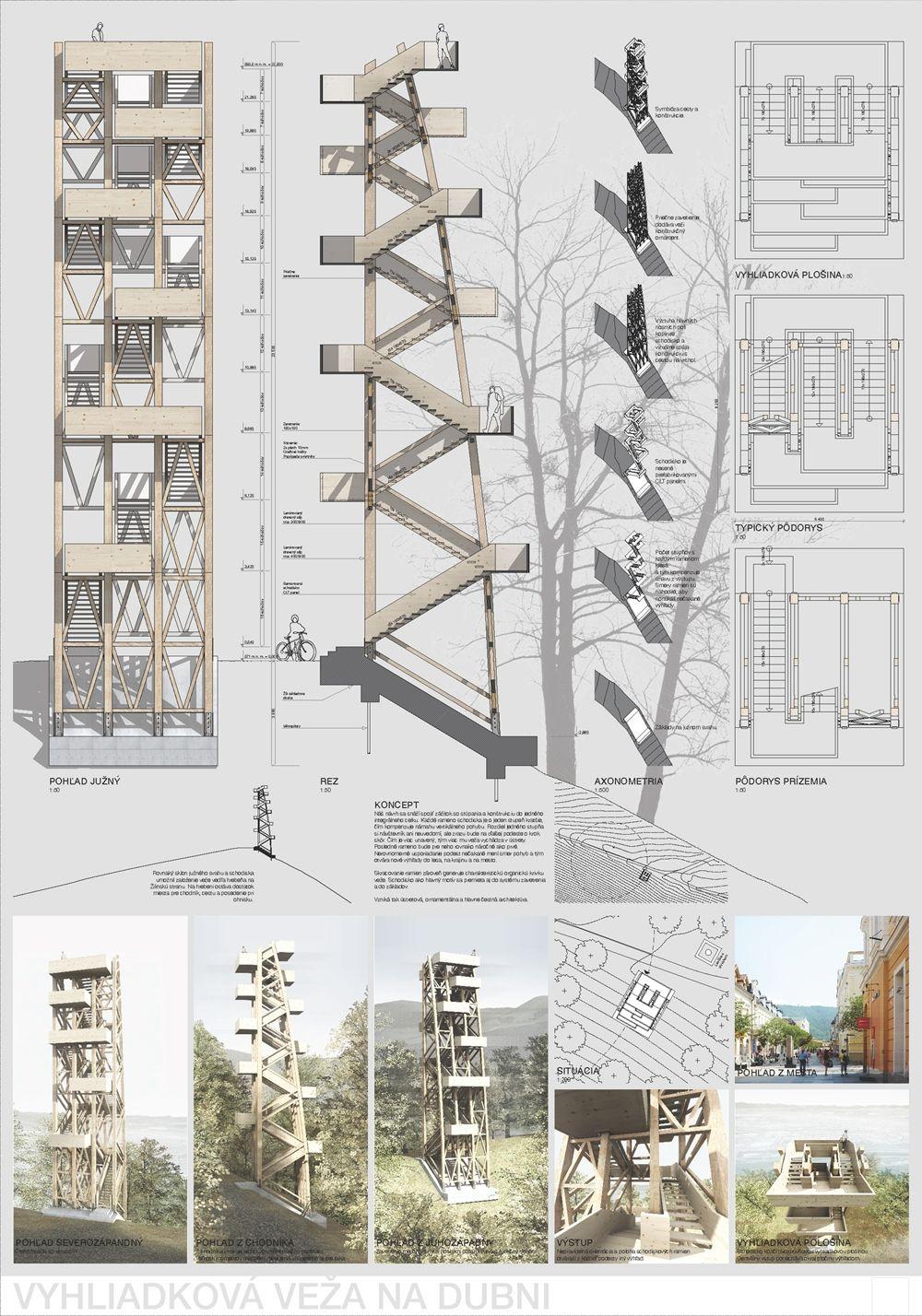 Súťažné návrhy Výhliadková veža na Dubni, foto 14