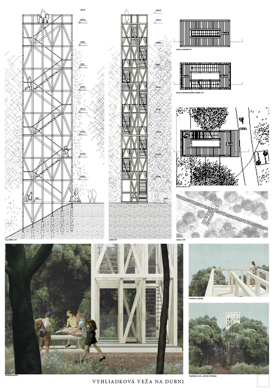 Súťažné návrhy Výhliadková veža na Dubni, foto 16