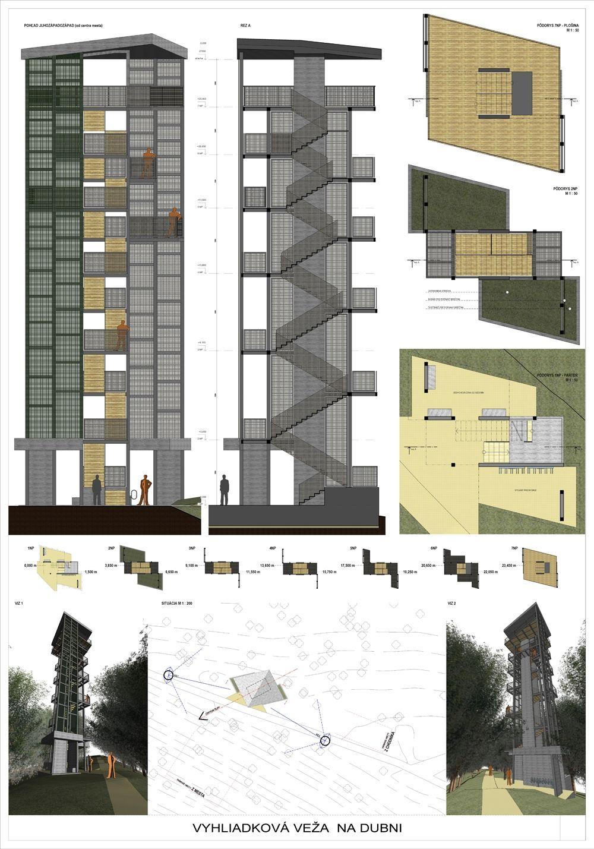 Súťažné návrhy Výhliadková veža na Dubni, foto 19
