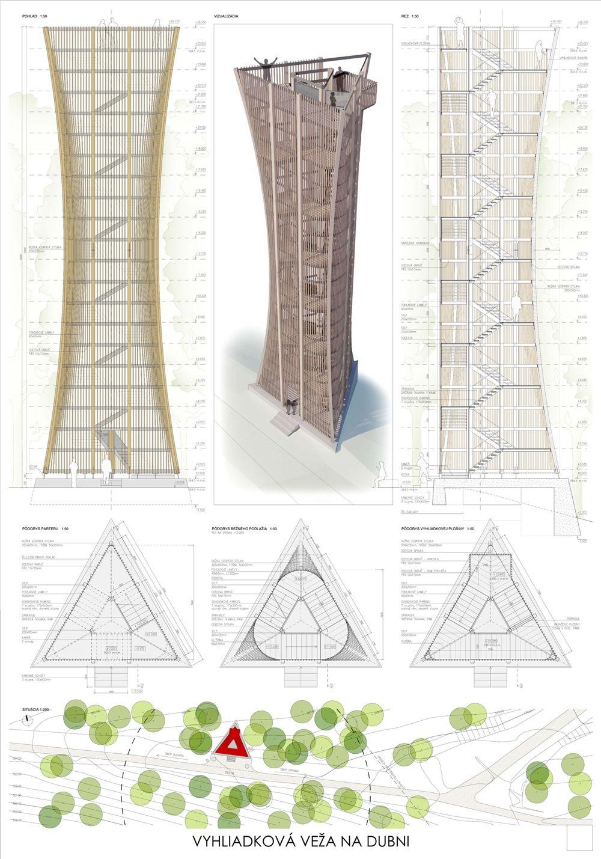 Súťažné návrhy Výhliadková veža na Dubni, foto 20