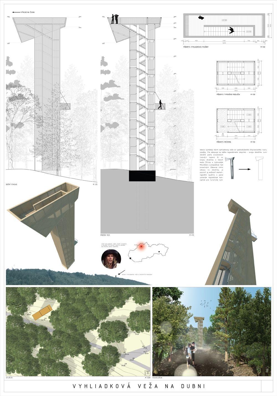 Súťažné návrhy Výhliadková veža na Dubni, foto 22