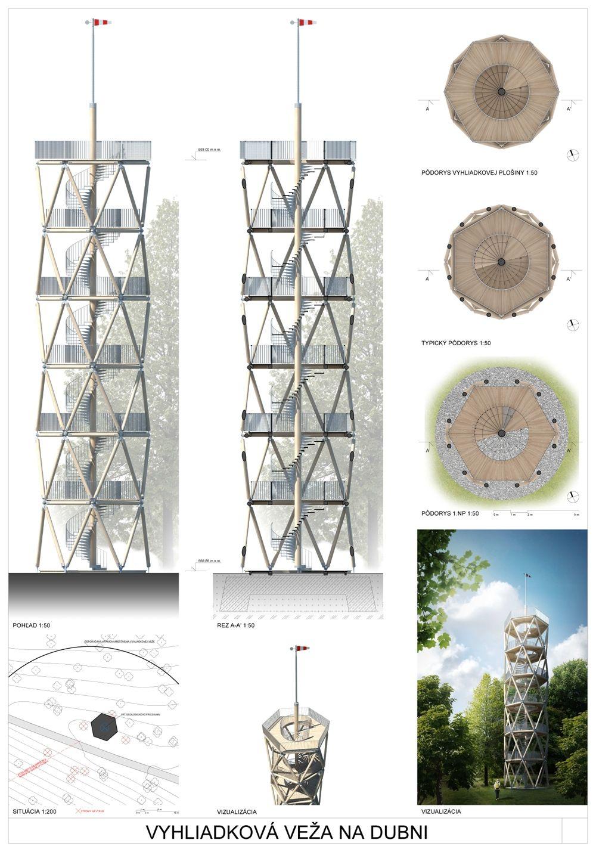 Súťažné návrhy Výhliadková veža na Dubni, foto 25