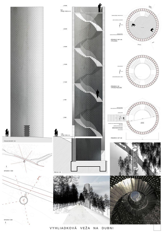 Súťažné návrhy Výhliadková veža na Dubni, foto 26