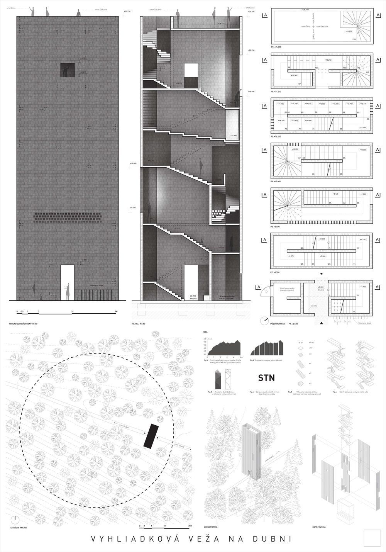 Súťažné návrhy Výhliadková veža na Dubni, foto 30