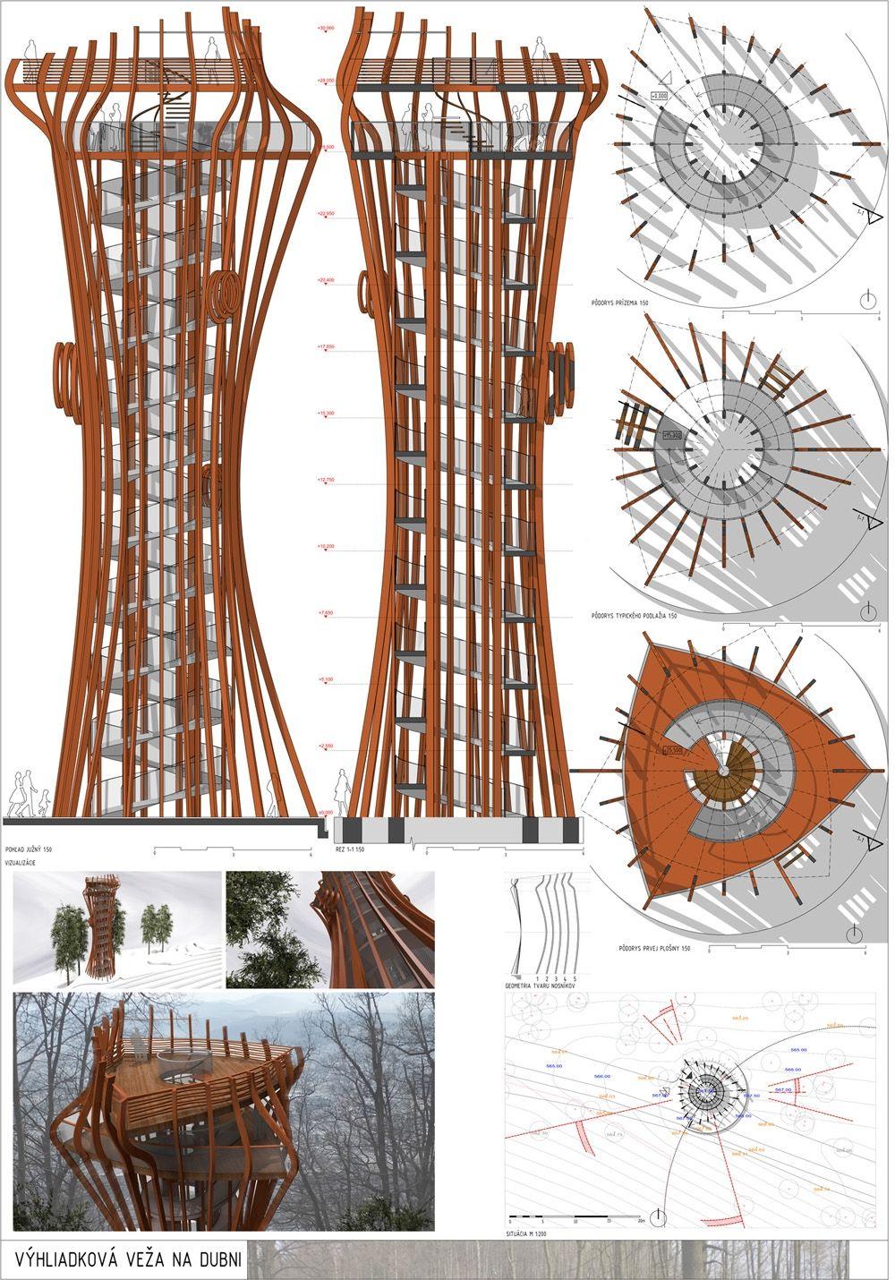 Súťažné návrhy Výhliadková veža na Dubni, foto 31