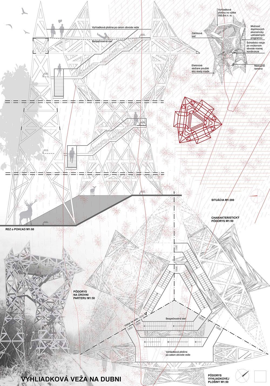 Súťažné návrhy Výhliadková veža na Dubni, foto 32