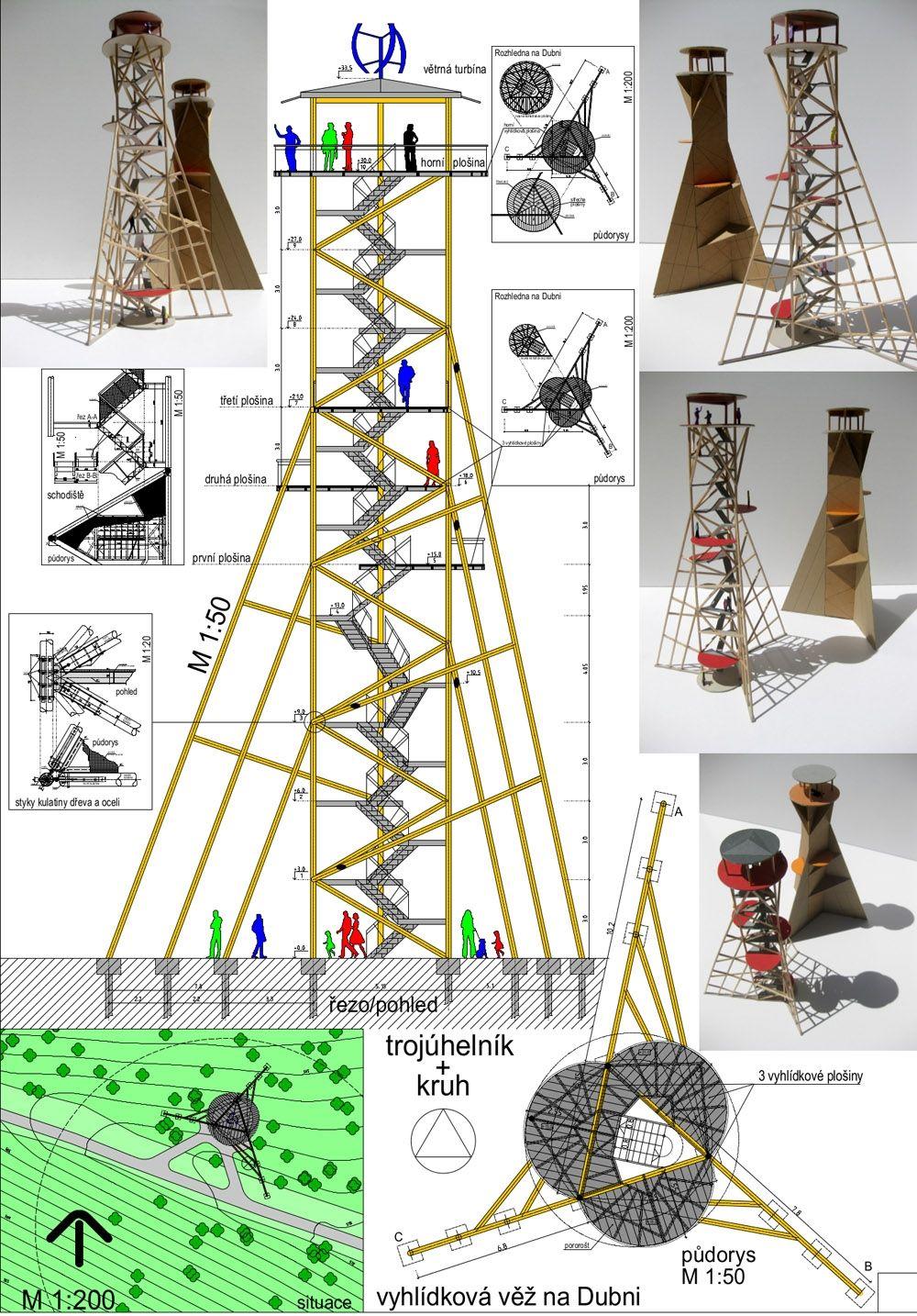 Súťažné návrhy Výhliadková veža na Dubni, foto 35