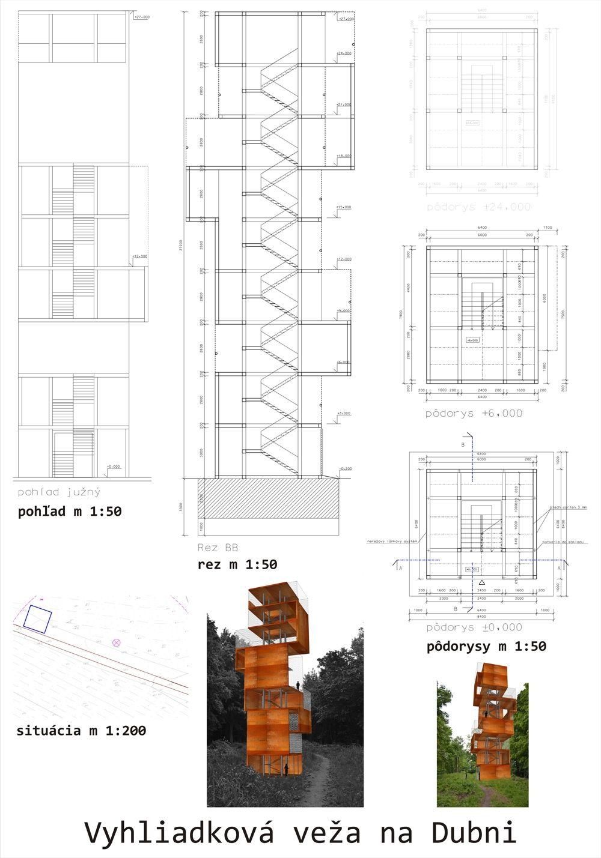 Súťažné návrhy Výhliadková veža na Dubni, foto 38