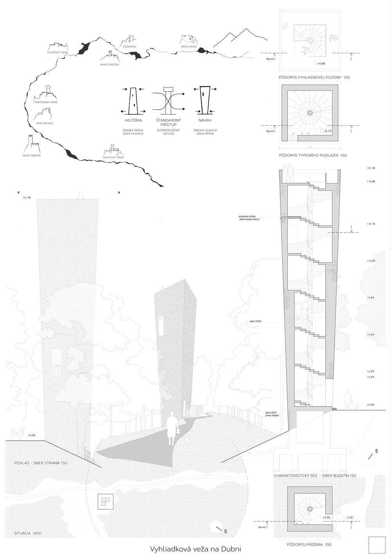 Súťažné návrhy Výhliadková veža na Dubni, foto 39